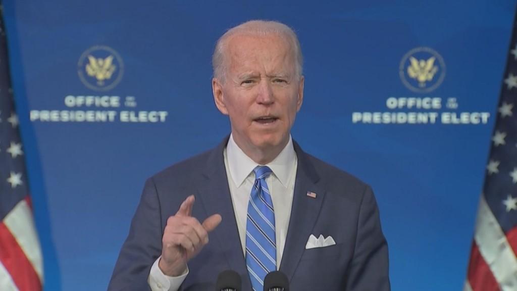 """Biden Unveils """"american Rescue Plan"""""""