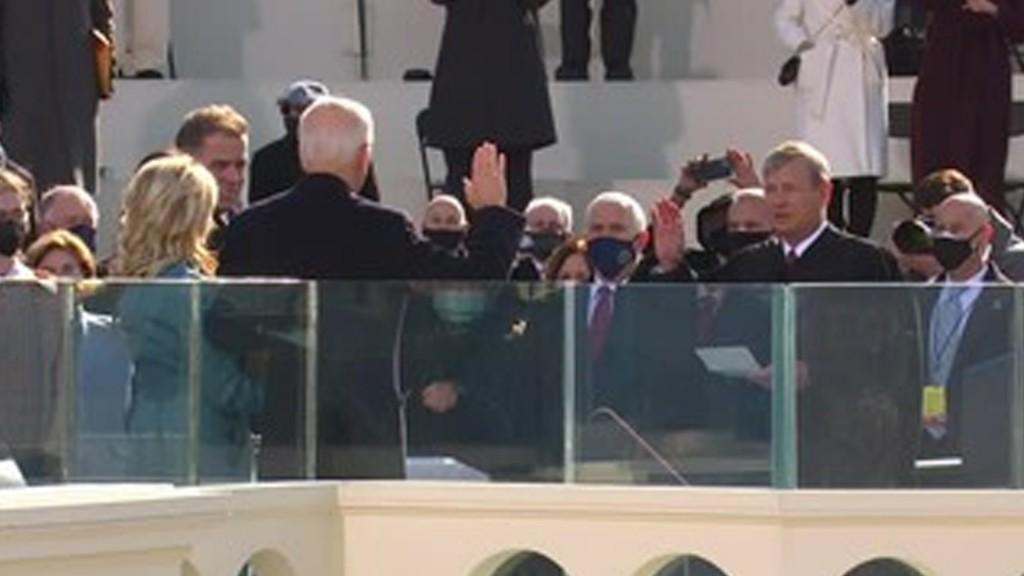 Biden Inaugurated