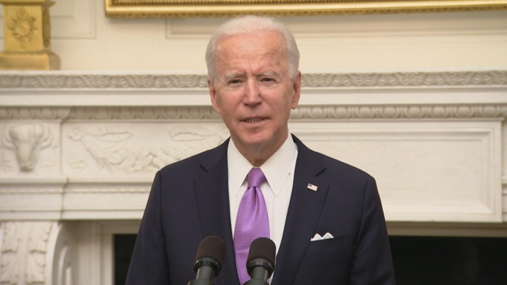 "Biden: ""help Is On The Way"""