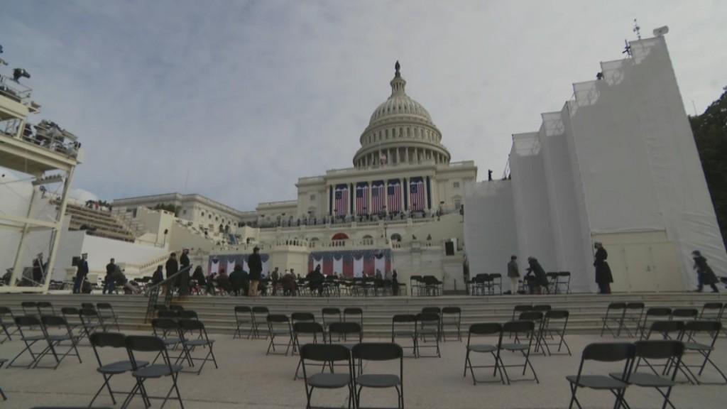 Final Preparations Underway For Biden's Inauguration