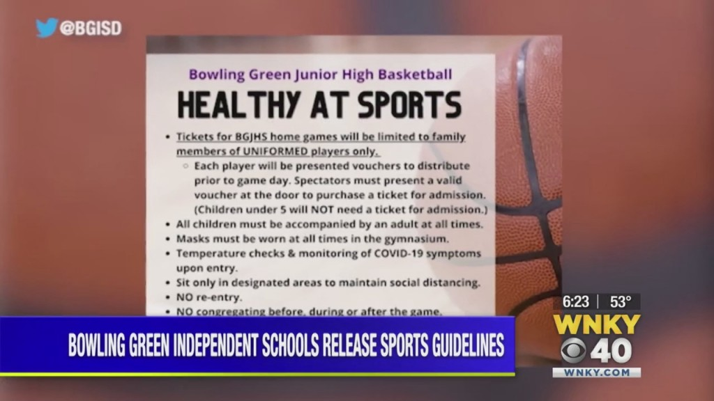 Bowling Green Independent Schools Release Guidelines For Basketball Season