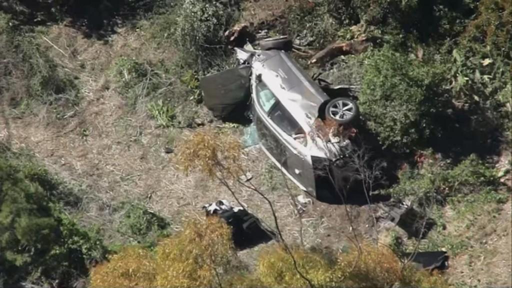Tiger Woods Hospitalized After Rollover Crash