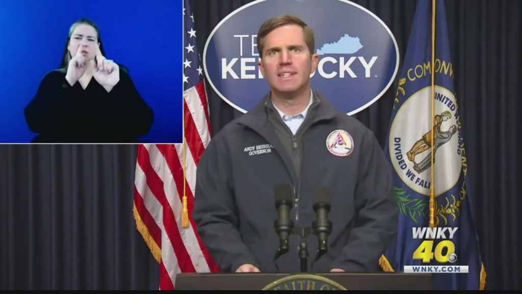 Gov. Beshear Issues State Of Emergency In Response To Winter Storm