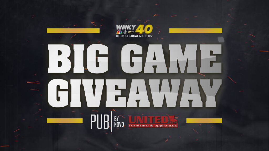 Big Game Giveaway Feature