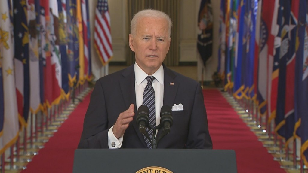 Biden: Full Vaccine Push By May 1st