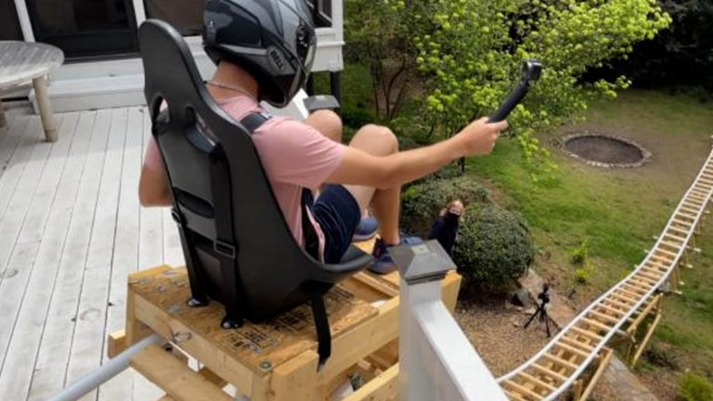 Georgia Teen Roller Coaster