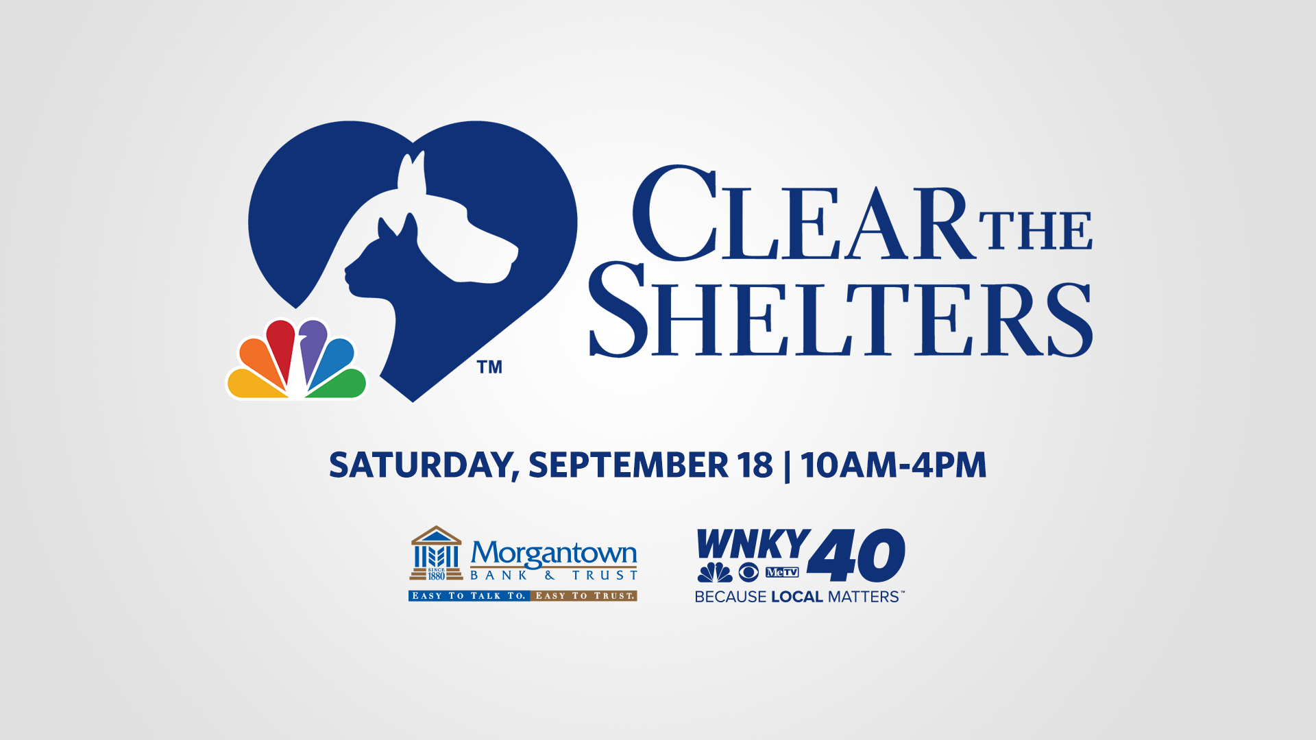 Clear The Shelters Event Page Cover