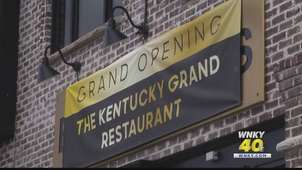 Kentucky Grand Hotel Held Ribbon Cutting For Their Restaraunt