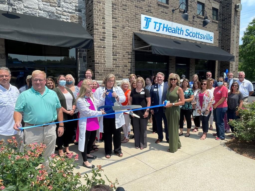 Tj Health Scottsville Ribbon Cutting