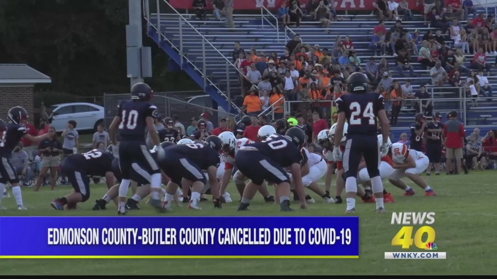 Edmonson County Butler County Football Game Cancelled Due To Covid 19