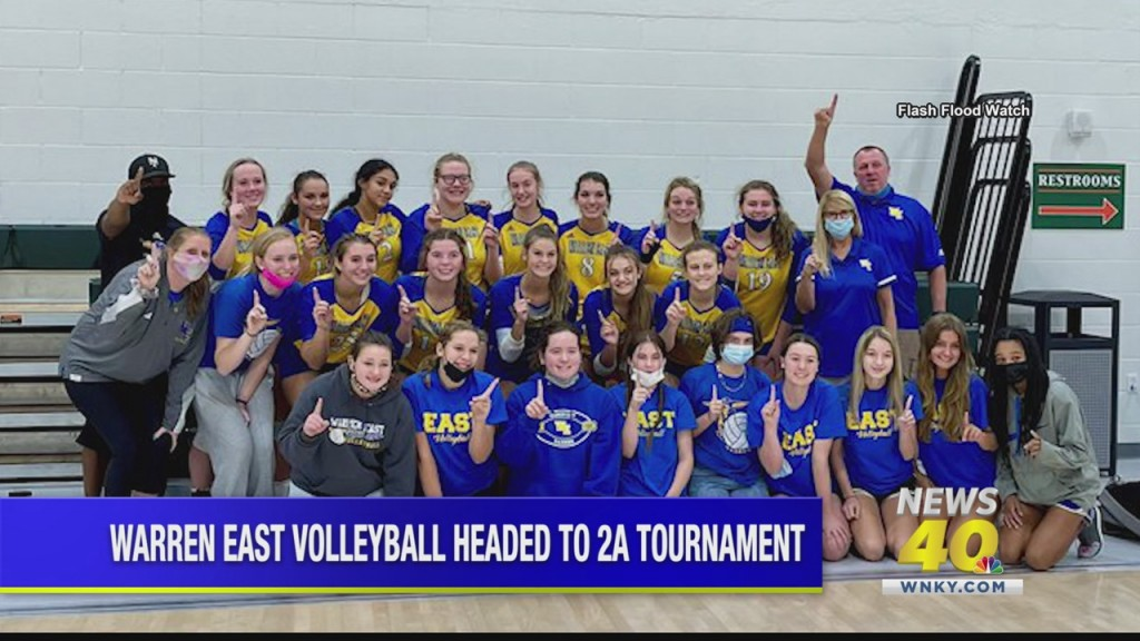 Warren East Volleyball Headed To 2a Tournament