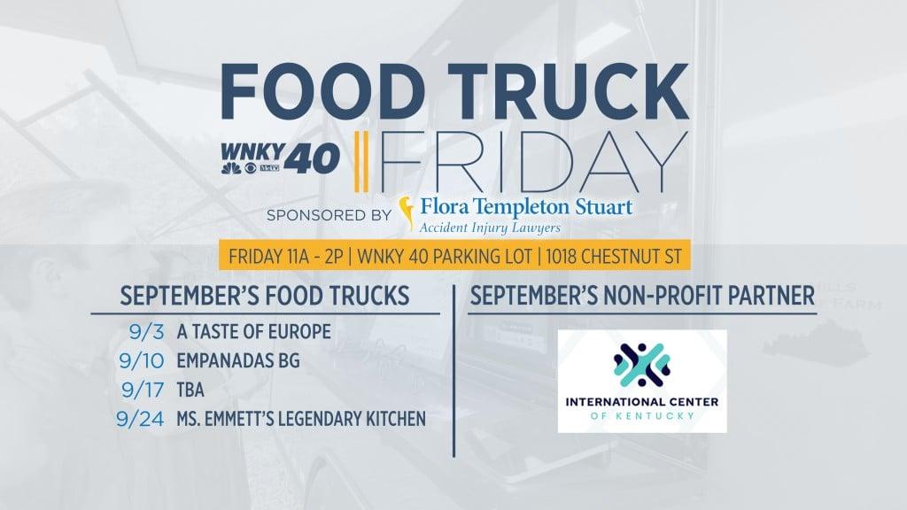 Food Truck Friday September 2021