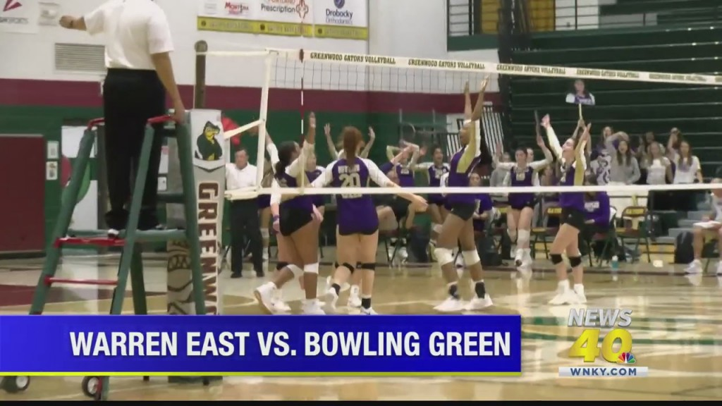 Bowling Green Hs Volleyball Advances In 14th District Tournament