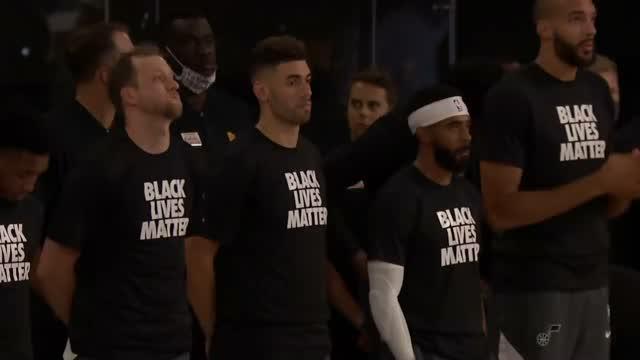 Black Lives Matter En La Burbúja De La Nba