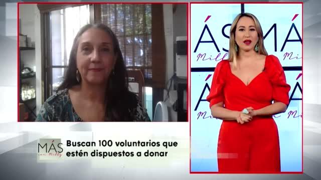 Buscan 100 Voluntarios Que Esten Dispuestos A Donar