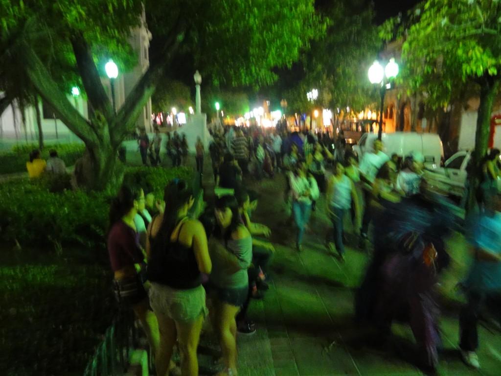 Fiesta En Plaza Las Delicias, Bo. Segundo, Ponce, Puerto Rico, Mirando Al Sur Desde C. Union Esq. C. Isabel (dsc02450)