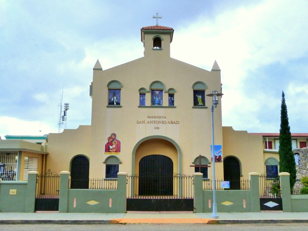 Iglesia De San Antonio Abad Guanica Puerto Rico