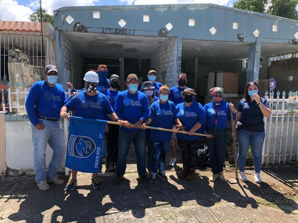 Voluntarios De Mission Continues
