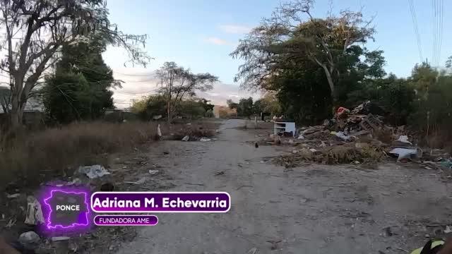 Vertederos Clandestino Paseo Lineal Ponce