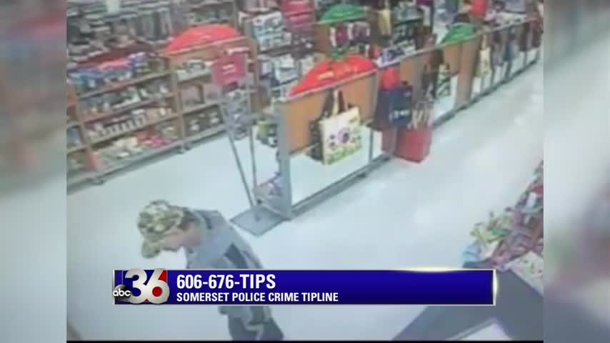 Security camera video of man accused of stealing purse from 63-yr old woman outside T.J. Maxx