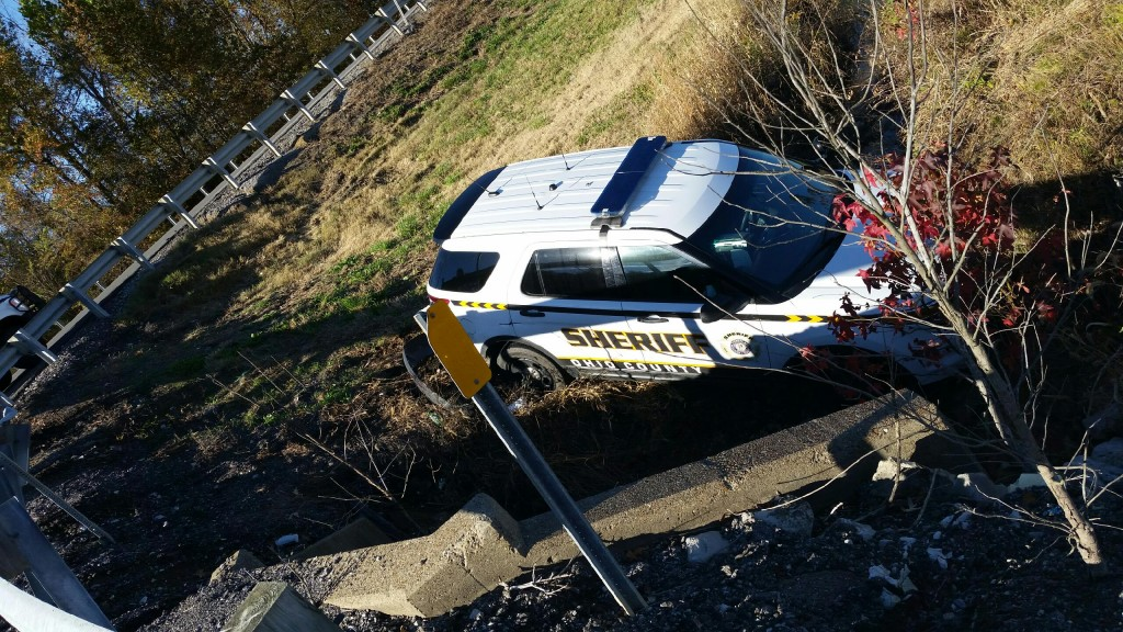 Ohio County Sheriff's Deputy's SUV stolen by suspect after deputy shot him in the chest