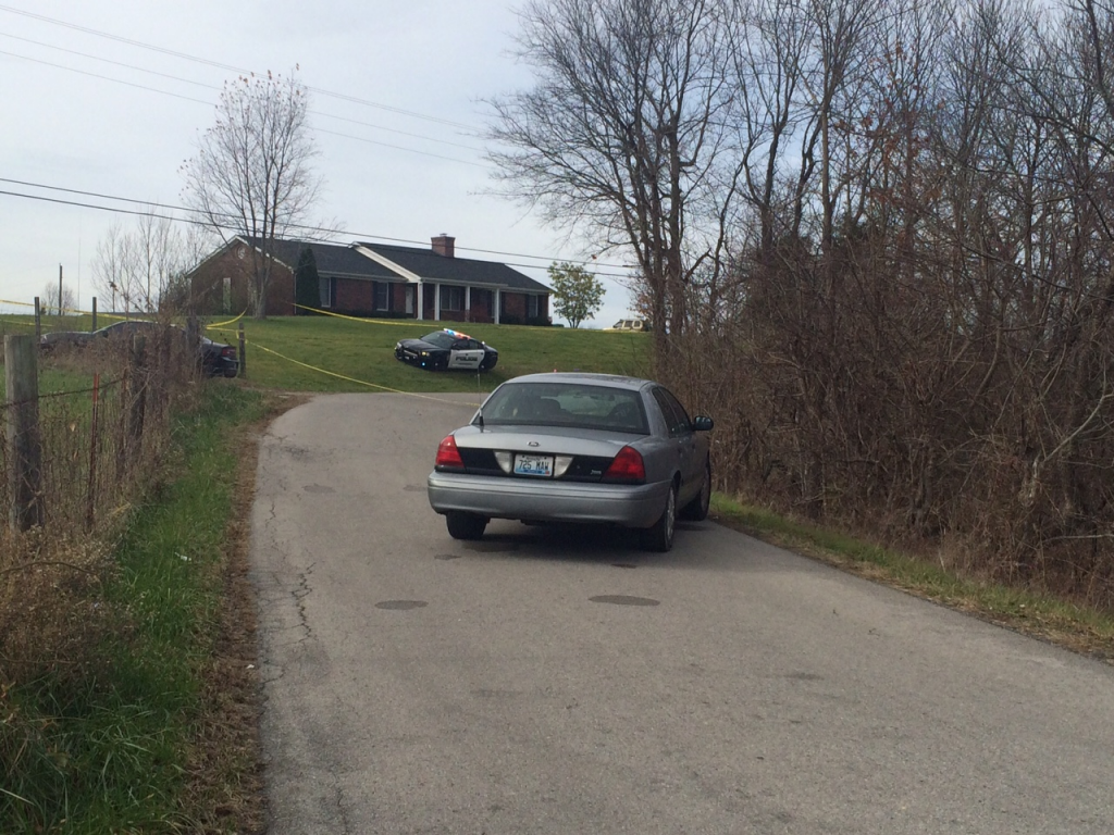 Lawrenceburg Police Officer Clay Crouch shoots suspect John Tompkins of Danville once at end of 10-mile pursuit in Anderson County after Tompkins reportedly displayed a handgun after wrecking 11-27-15