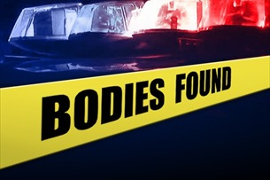 Louisville Metro spokeswoman Alicia Smiley told news outlets the bodies of a man who appeared to be in his 60s and a woman who appeared to be in her 30s were found Sunday afternoon.