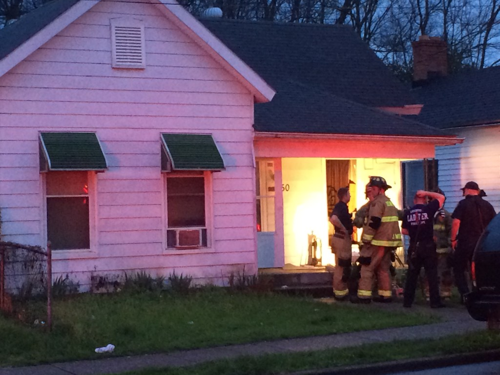 Small fire in bedroom of home on Ohio Street in Lexington 4-11-17