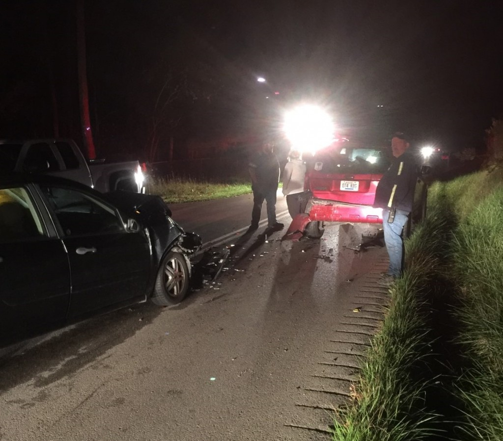DUI injury crash on Level Green Road in Laurel County 10-16-17.  Timothy Williams