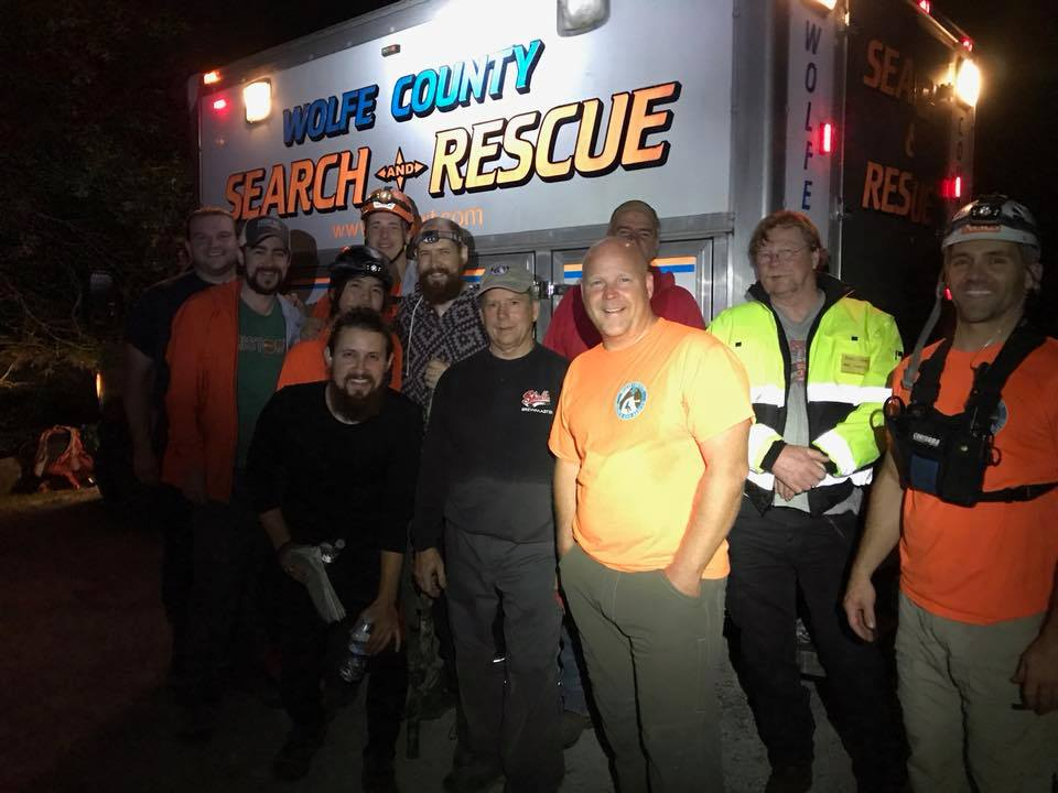 FACEBOOK/Wolfe County Search & Rescue