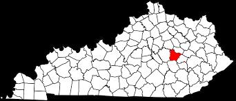 Estill County map