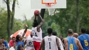 Super Sunday Dirt Bowl in Douglass Park in Lexington basketball
