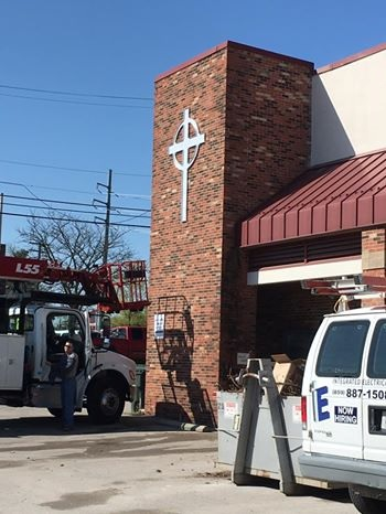 Emergency Disaster Services (EDS) is providing temporary housing to the Catholic Action Center in Lexington.