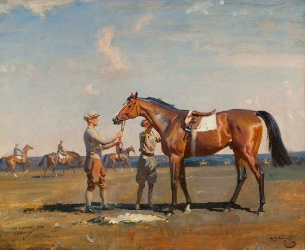 Keeneland and Cross Gate Gallery's annual Sporting Art Auction 11-18-15