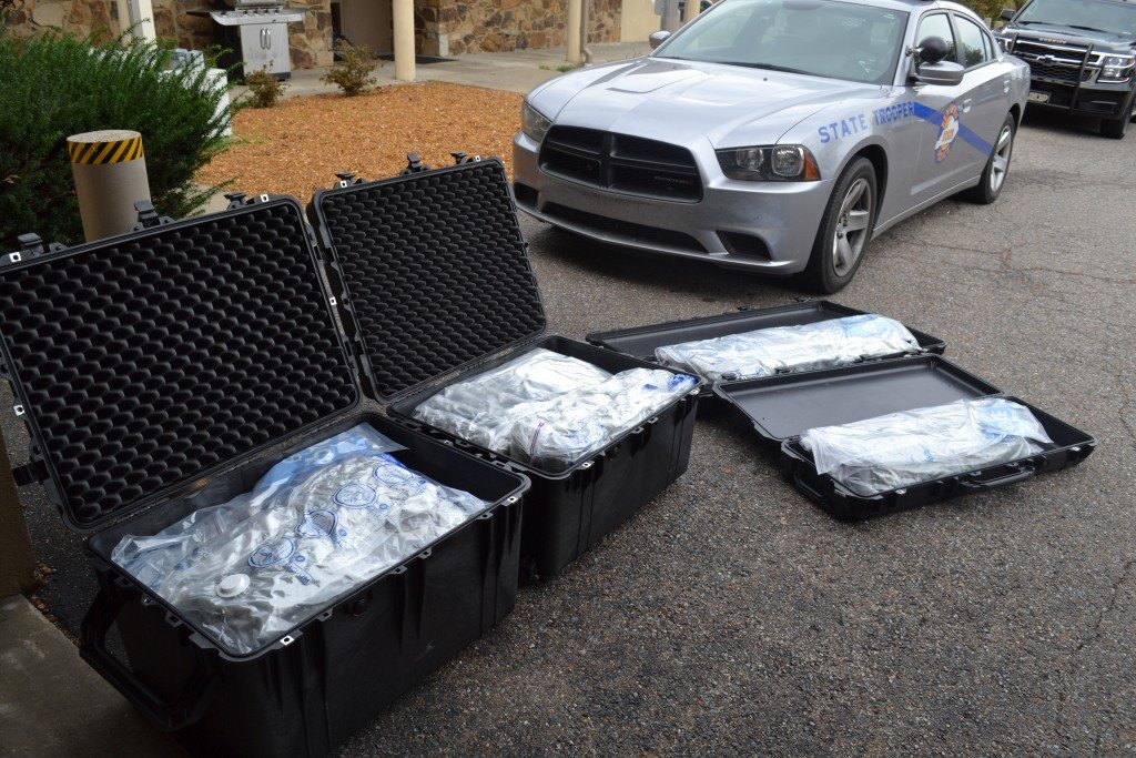 State Police find 61-pounds of high-grade marijuana during traffic stop in McCracken County