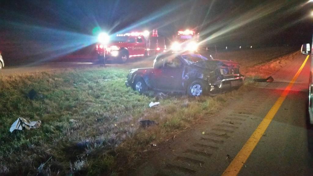 Daniel Farr dies in single car crash on Cumberland Parkway in Pulaski County 10-4-17.  Photo courtesy:  Pulaski County Sheriff's Office