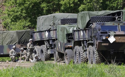 U.S. Army soldiers conduct the annual exercise in Paju