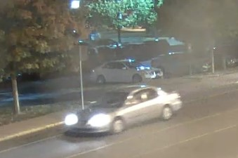 Security camera image of suspect's car in racial bias harassment cases on UK campus that prompted crime bulletin 10-7-16