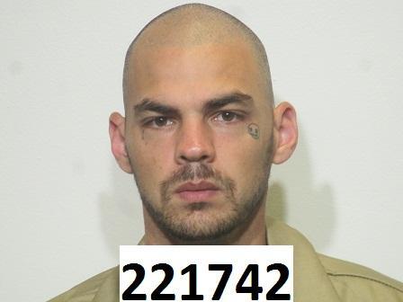 Brandon Edwards walked away from Blackburn Correctional Complex in Lexington 12-5-17