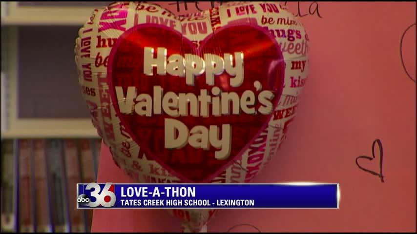 Love-A-Thon held at Tates Creek High School in Lexington 2-11-16