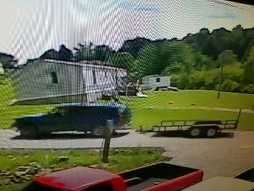 Surveillance photo of trailer theft in Laurel County on Memorial Day 5-29-17
