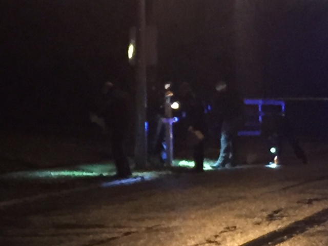 Mailbox blown up outside house on Victoria Way in Lexington 11-23-16