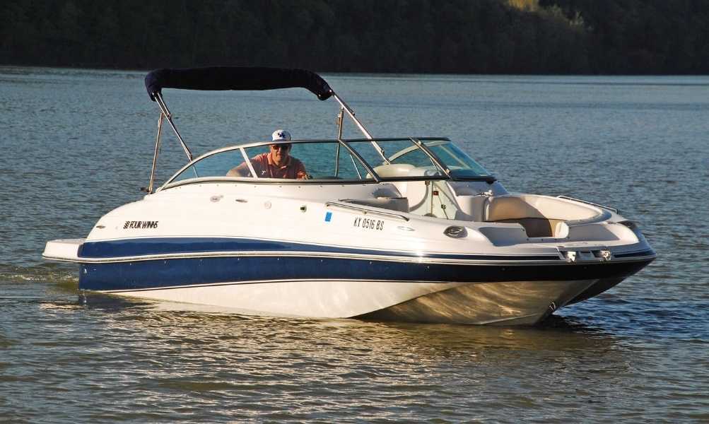 Stolen 2002 Four Winns Fun Ship 214 boat from Carlisle County.  It was stolen from a home with its trailer on 11-11-17.