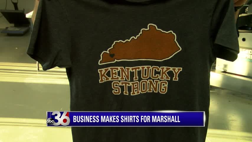 Kentucky Strong t-shirt from Shop Local Kentucky in Lexington which supports Marshall County High School shooting victims and their families 1-26-18