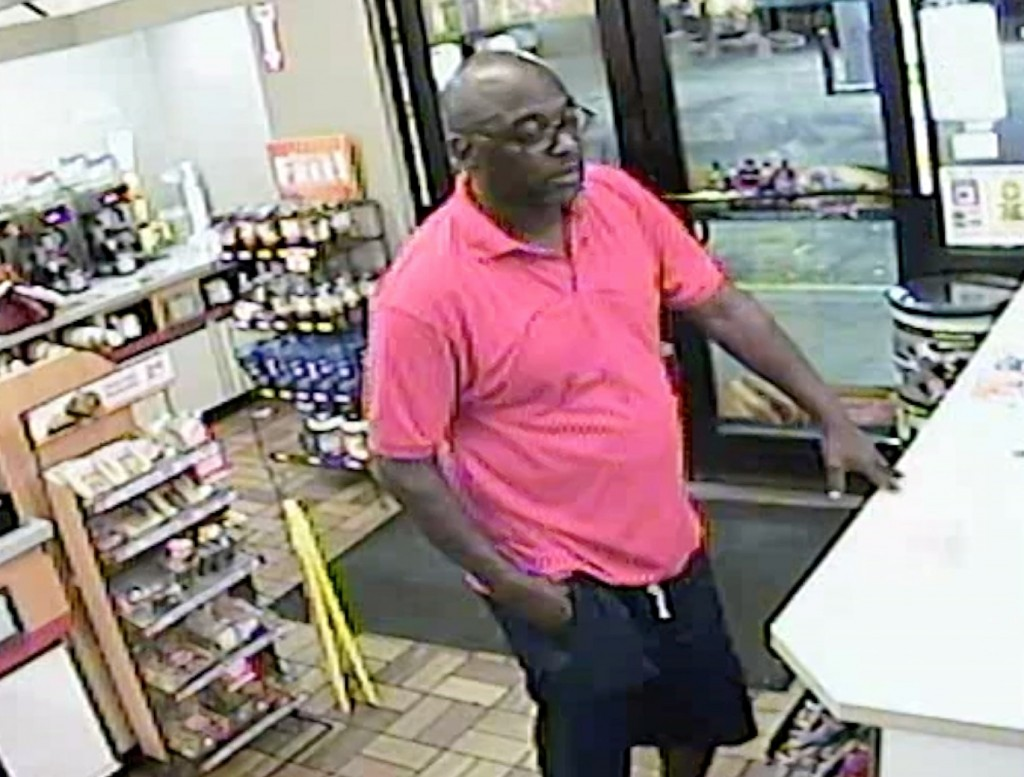 Image of man accused of stealing 36 cartons of cigarettes from Speedway gas station on Winchester Road in Lexington 8-14-17