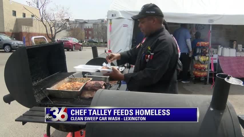 Lexington Chef Love Talley feeds the city's homeless 3-30-17
