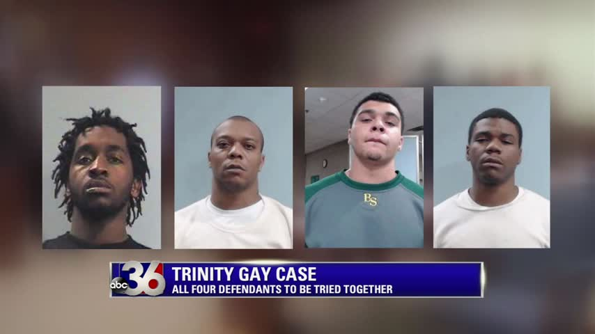 Four suspects in Trinity Gay shooting death murder.  Left to right:  Lamonte Williams