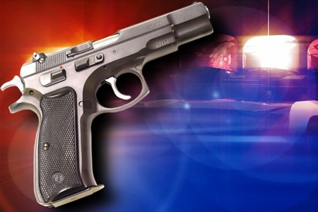 gun police armed robbery-shooting