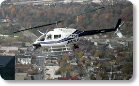 Lexington Police helicopter