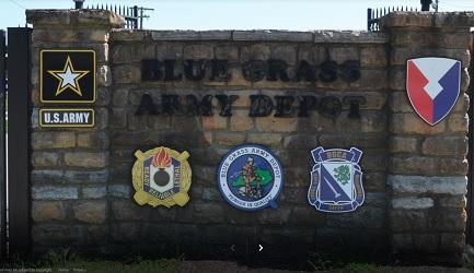 Blue Grass Army Depot in Richmond